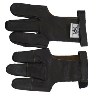 Buck Trail Rentierlederhandschuh  mit verstärkten Fingertips