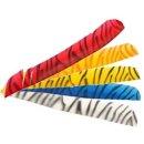 zebra Federn 30 Naturfederformen