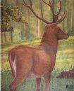 JVD - Tierbildauflage Hirsch