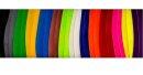 ToKaEr einfarbige volle Federn neon grün
