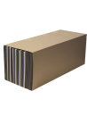 Lamellenstreifen Kiste 130x30x50