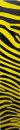 Wraps - Zebra gelb