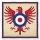 Spassauflagen Adler-Wappen 63cm x 63cm
