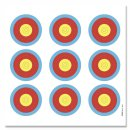 Bogen-Ausbildungsauflagen 42,5cm x 42,5cm