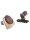 Buck Trail 6er Bogenköcher burgundy/beige mit weichen Clips