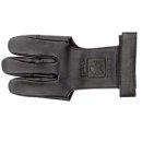 Buck Trail schwarz Lederhandschuh  mit verstärkten Fingertips